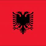 Vlag van Albanie