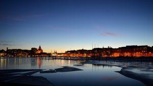 Helsinki_Mobiel_reiseditie_hoofdstad_Finland_bij_Nacht