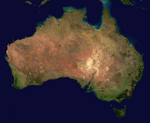 Australie_landeninformatie_Kaart_reiseditie