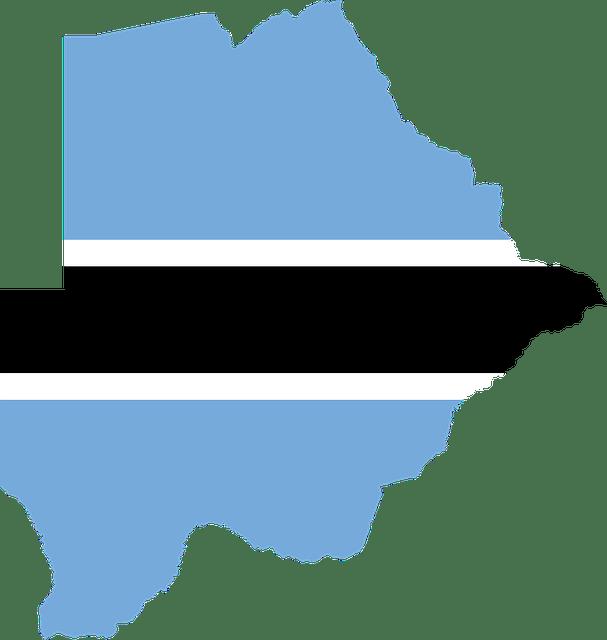 Landenoverzicht_Botswana_Vlag_Land_Kaart_landeninformatie_Landenoverzicht