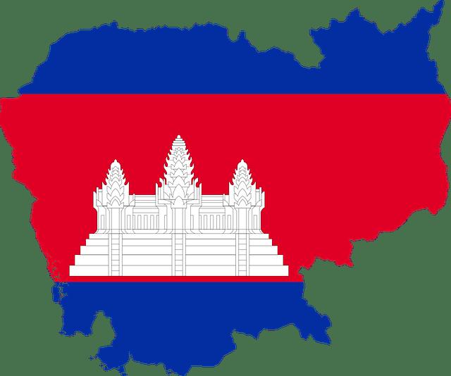 Cambodja_Vlag_Landeninformatie_Reiseditie