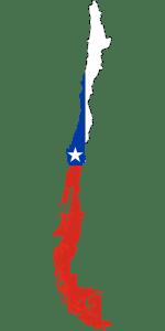 Zuid_Amerika_Chili_Vlag_Kaart_Reiseditie