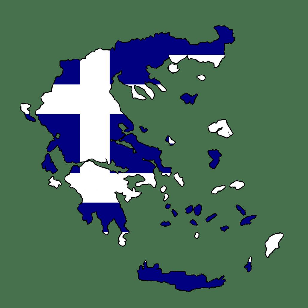 Griekenland_Landeninfo_Map_kaart_Vlag
