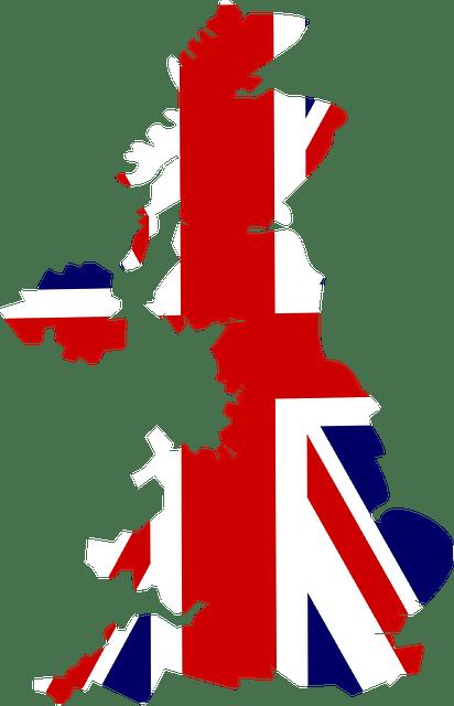 Groot_Brittanie_Verenigdkoninrijk_Engeland_Kaart_Map_Vlag