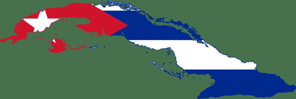 Vlag_Kaart_Cuba_Reiseditie_Landeninfo