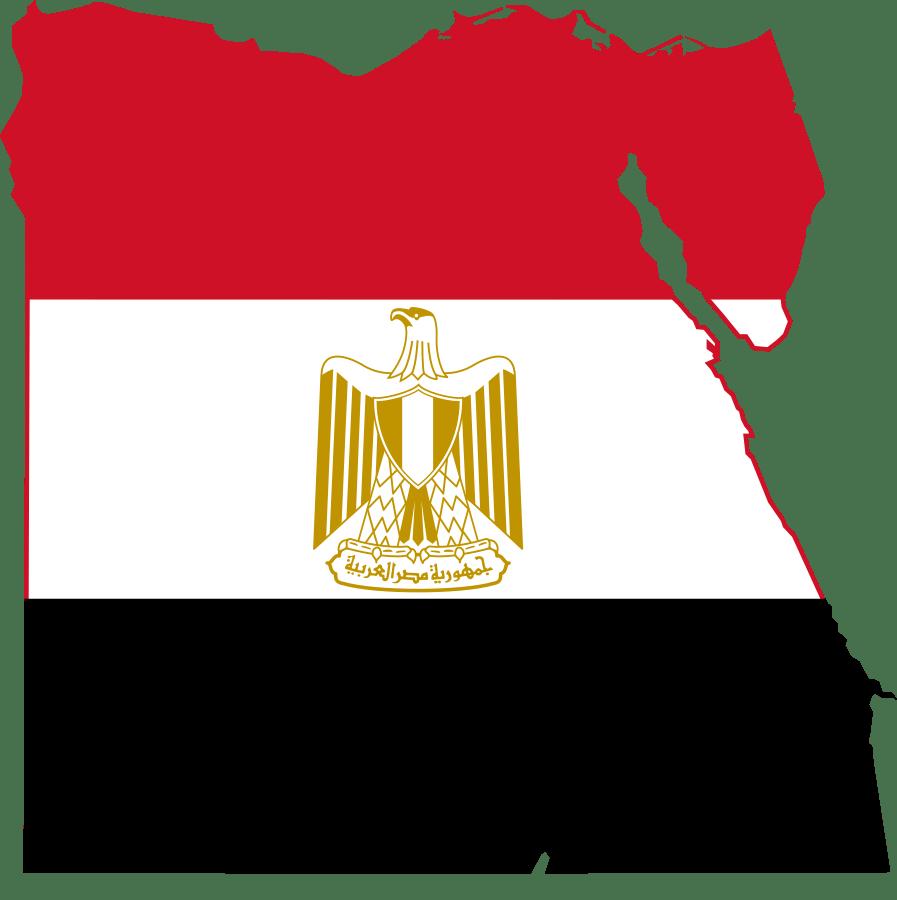 Landenoverzicht_Vlag_Map_Kaart_Egypte_Reiseditie_landeninformatie