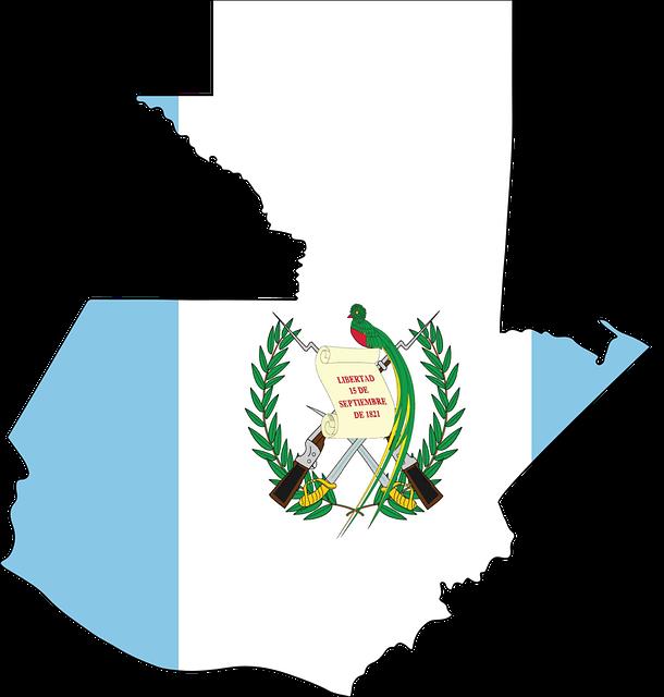 Overzicht_guatemala_vlag_map_kaart_Reiseditie_landeninfo