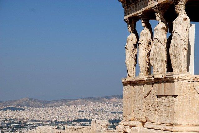 Overzicht over Athene Griekenland Reiseditie