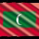 Vlag_Map_Kaart_Malediven_Reiseditie