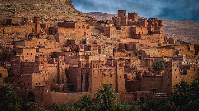 Klimaat-marokko-oude-stad-zonnig