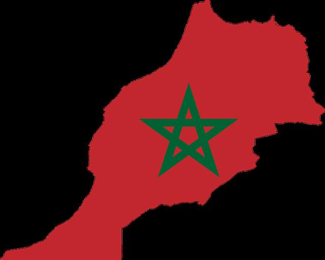 Vlag_Map_Marokko
