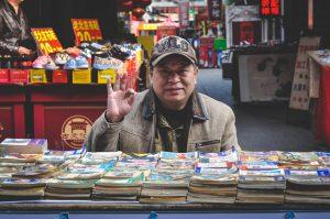 China_bevolking_Man_voor_Stripboeken_Tent